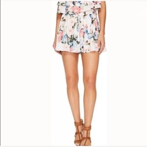 Show Me Your Mumu Short Skorts Floral Lined NWT